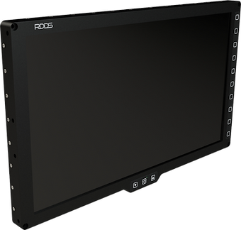 RDDS Avionics Displays Video Management Aviation Mission Control Command Mission Software LCD2115 Full HD Touchscreen Display