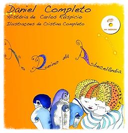 Livro Cd que de forma divertida fala do abecedário e da aprendizagem da escrita.