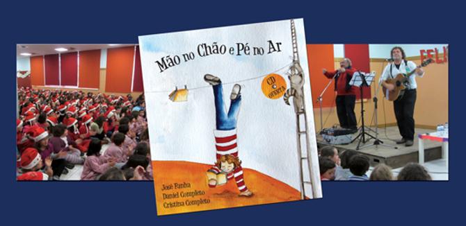 Concertos Infantis com Daniel Completo e José Fanha, alia a poesia à música apresentando conteúdos pedagógicos de uma forma lúdica
