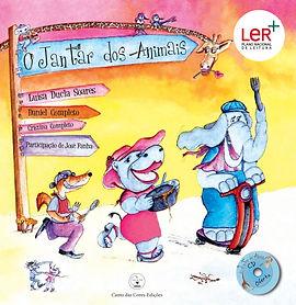Livro-CD de poesias e canções sobre os animais servindo de instrumento educativo para o estudo do meio.