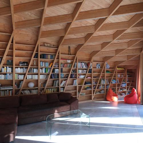Extension bois contemporaine