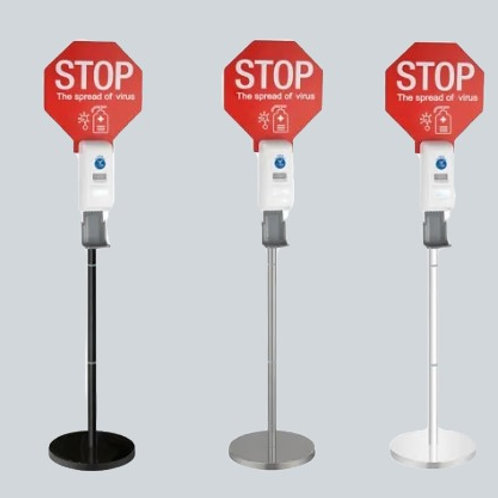 """""""Stop The Virus""""Hand Sanitizer Floor Stand Automatic"""
