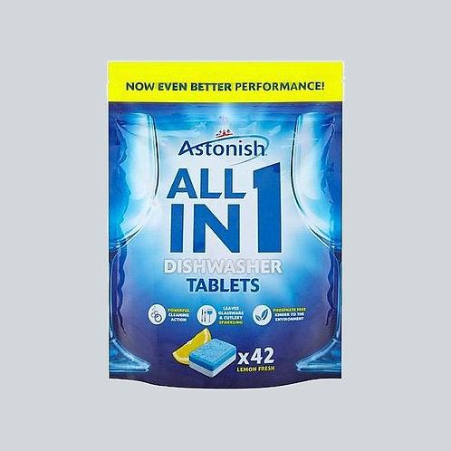 Astonish Dishwasher Tablets 1x42