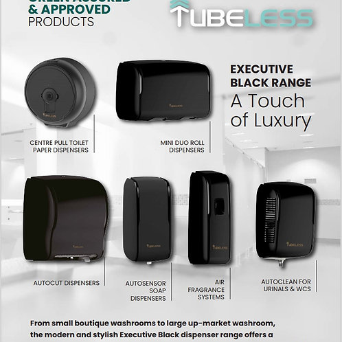 Tubeless Executive Black Range