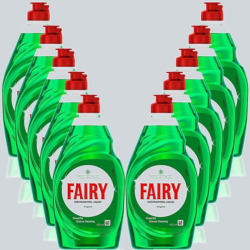 Fairy Washing Up Dishwashing Liquid 1x433ml
