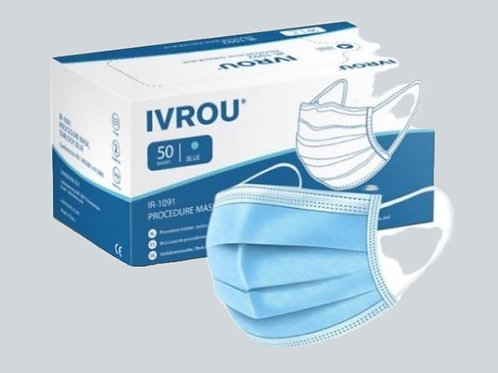 3 Ply Disposable Masks 50pack