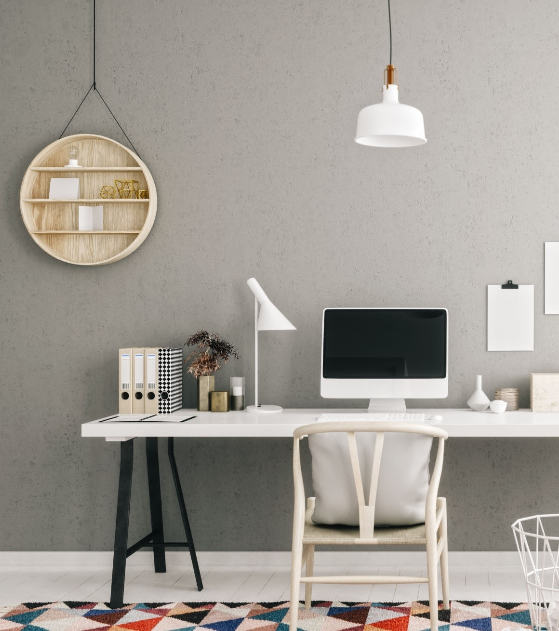 Personal Desk Space