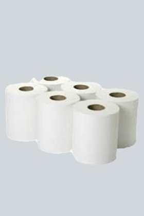 Centrefeed Tissue Rolls 2-Ply 130m White Pack of 6