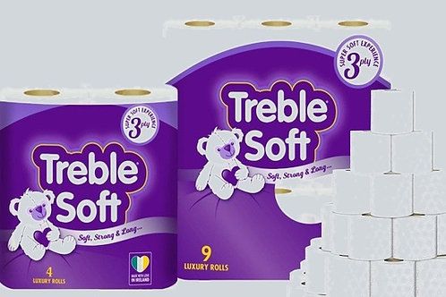 DOMESTIC TOILET ROLL 3PLY PACK OF 40