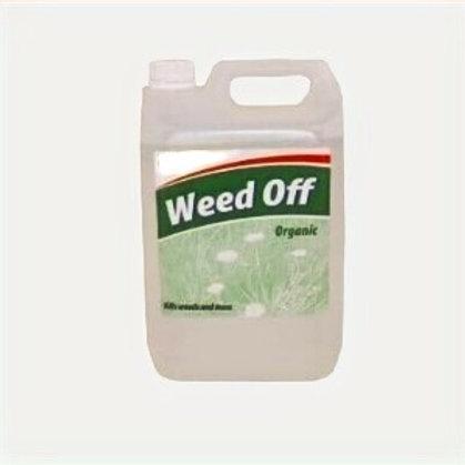 Irish Organic Weed Killer 1x5 Ltr