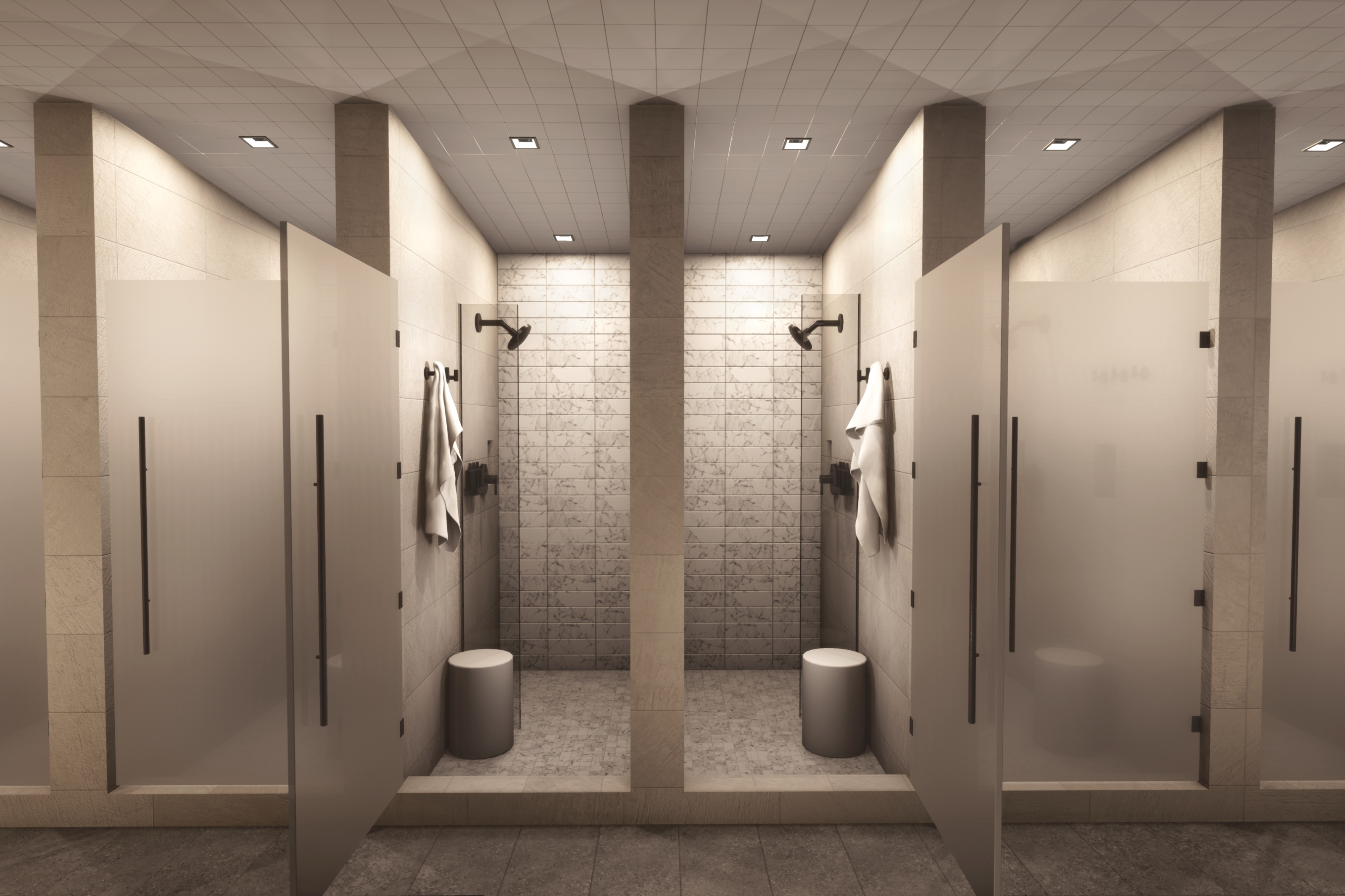 Shower Areas