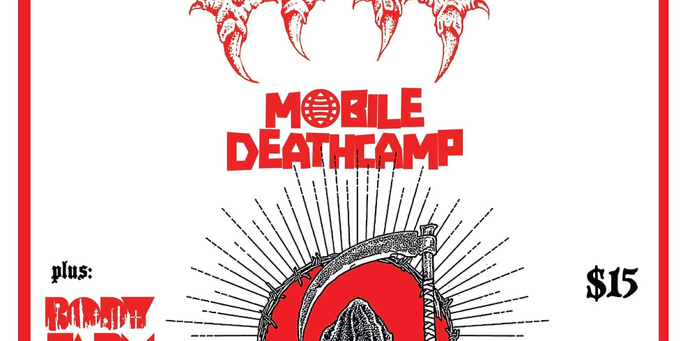 Starwood Presents - BAT w/ Mobile Deathcamp, Body Farm, and Hell Is Here