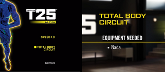 Focus T25: Alpha Total Body Circuit