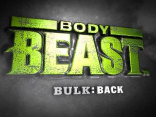 Body Beast: Bulk: Back