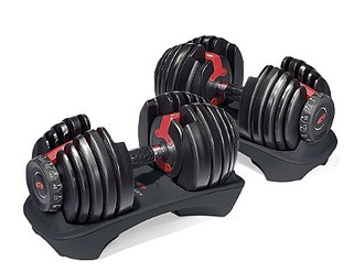 Bowflex SelectTech 552 Adjustable Dumbbells review!