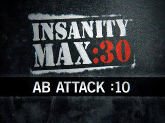 INSANITY Max 30: Ab Attack