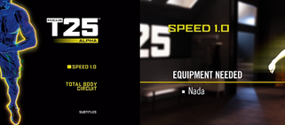 Focus T25: Alpha Speed 1.0