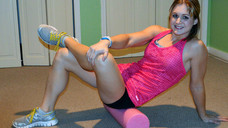 Myofascial Release (Foam Roller) - Sore? Try this.