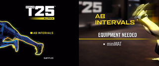 Focus T25: Alpha AB Intervals