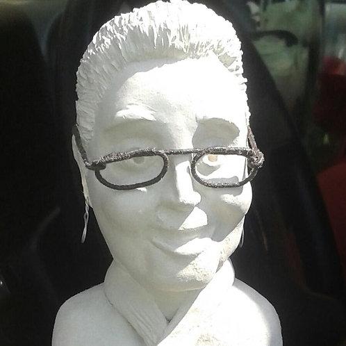 Miniature sculpture (individual, bust)