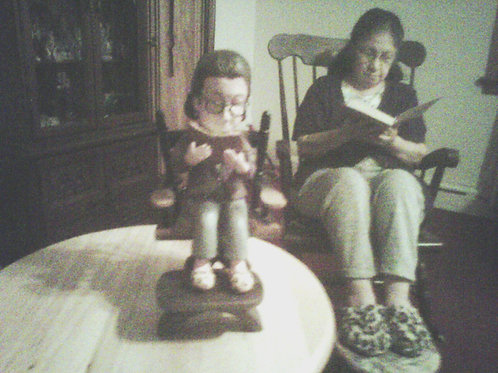 Miniature sculpture (individual, complete) - My Lovely Mom