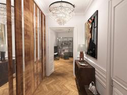 Дизайн-концепция входного холла