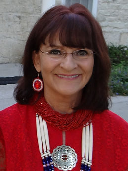 Pauline Sharp at Kaw Mission