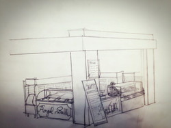 Store Design Sketch
