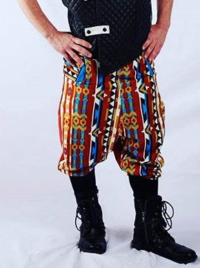 Bold Drop Crotch Pants