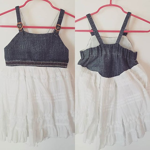 Buckles And Jean Dress
