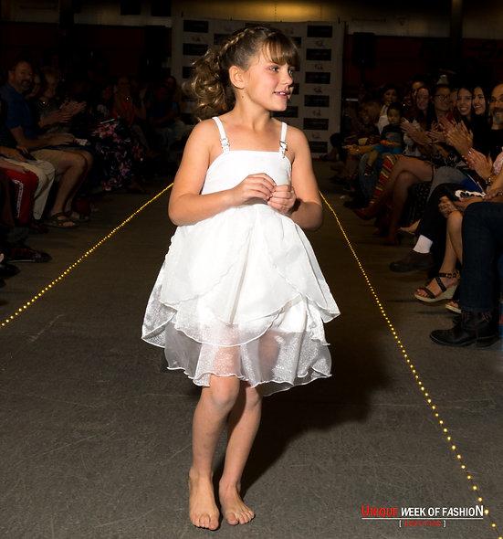 Unicorn Layer Dress w/ Adjustable Buckle Straps