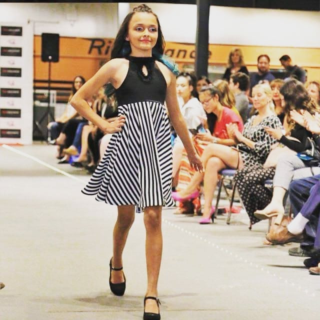 #kidsfashion #blackandwhite #runway #mys