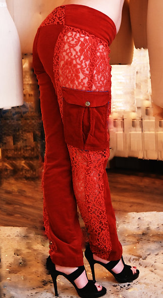 Lace Hot Pants