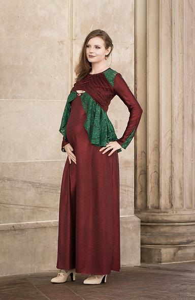 Festive Maternity Dress Size M