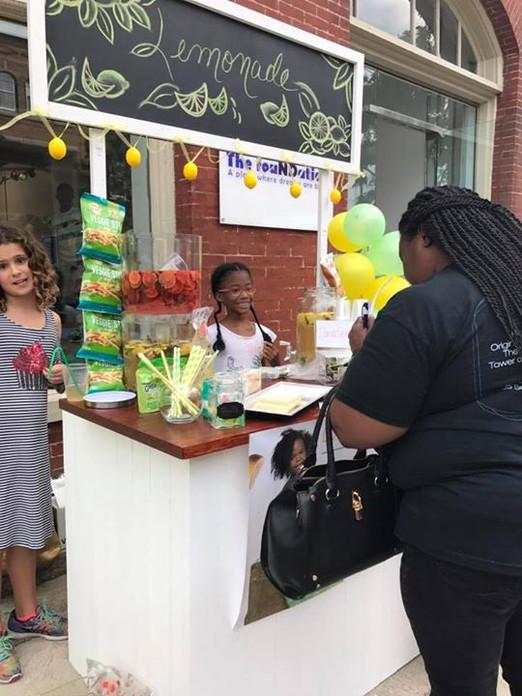Liver-Aid Lemonade Fundraiser