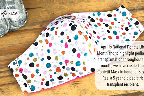 Baylor Rae Confetti Mask