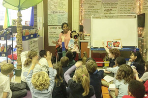 Greenfield Elementary Story time