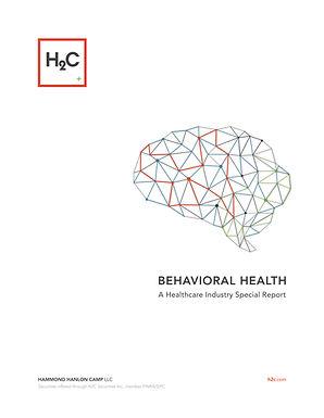 Hammond Hanlon Camp LLC Presents a Healthcare Industry Special Report on Behavioral Health