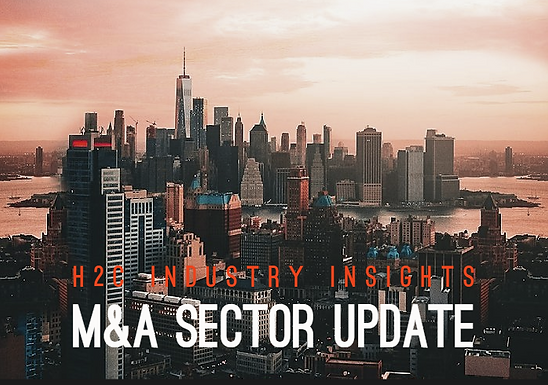 H2C M&A Sector Update • Competition for Healthcare IT Deals Remains High
