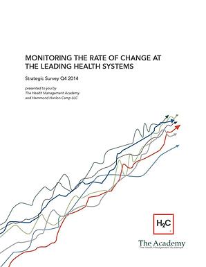 The Health Management Academy and Hammond Hanlon Camp LLC Introduce the Quarterly Healthcare Industry Strategic Survey