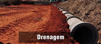 Projeto de drenagem para loteamento. Elaboração de projeto integrado de terraplenagem, água e esgoto.