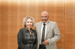Gary Thompson and Diana Sarfati