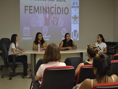 Evento para debater o feminicídio é organizado pelo PET Conexões de Saberes Educomunicação, na UFU