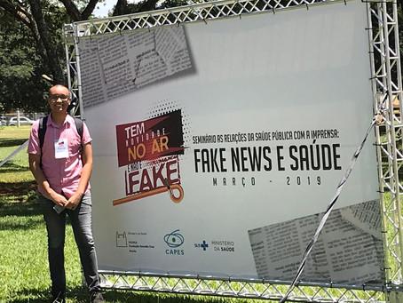 Estudante do jornalismo participa de congresso em Brasília