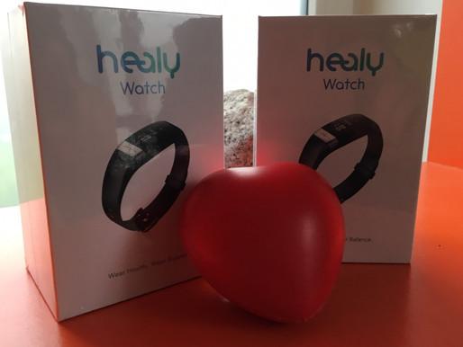 Healy Watch  z EKG który może uratować życie...