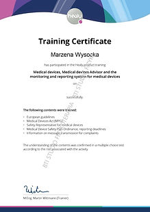 Medical_Device_Advisor_Training Marzena