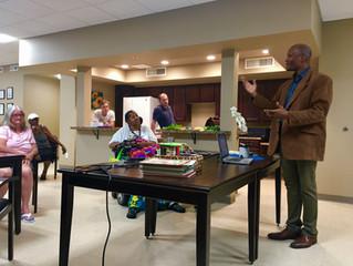Dr. Morris Speaks on Community Gardens