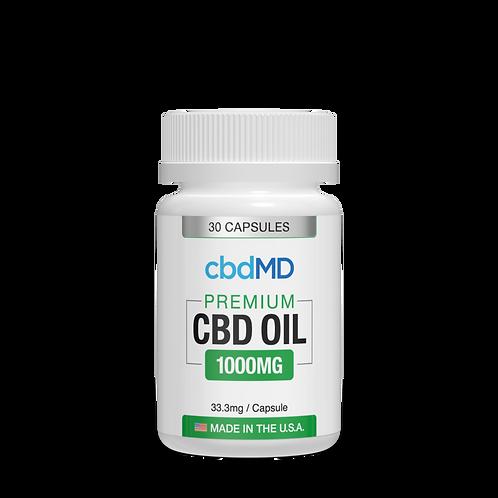 CBD Oil Capsules 1000mg
