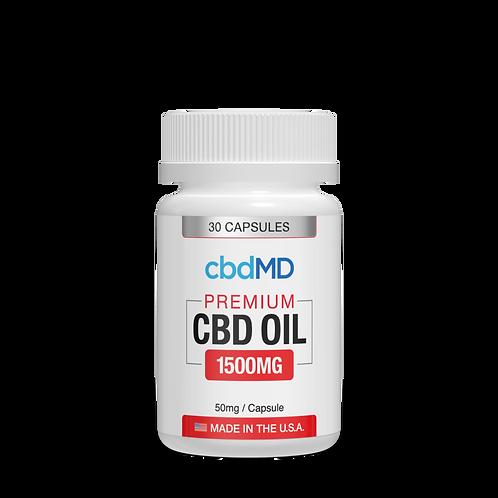 CBD Oil Capsules 1500mg