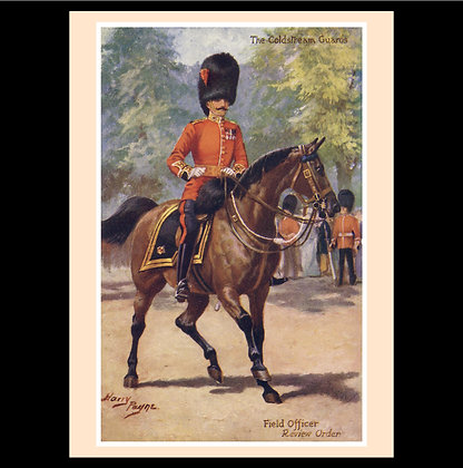 Coldstream Guards - set of six greeting cards